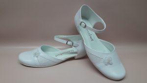 215 Białe buty komunijne dla dziewczynki