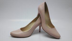 186 Różowe buty do ślubu – czółenka damskie
